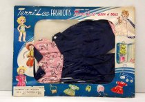 Image of 13244-471-(1-3) - Clothing, Doll, Pedal Pushers and Sport Shirt in original packaging