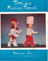 Image of 13244-407-(1-2) - Catalog, Terri Lee Fashion Parade with Price List Insert