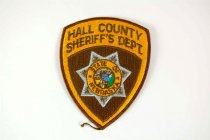 Image of 13259-100 - Patch, Law Enforcement, Sheriff, Hall County