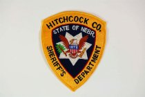 Image of 13259-102 - Patch, Law Enforcement, Sheriff, Hitchcock County