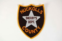 Image of 13259-114 - Patch, Law Enforcement, Sheriff, Nuckolls County