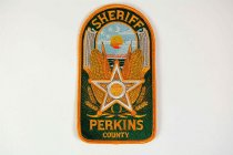 Image of 13259-118 - Patch, Law Enforcement, Sheriff, Perkins County