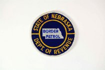 Image of 13259-163 - Patch, Insignia, State of Nebraska Department of Revenue Border Patrol
