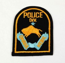Image of 13259-43 - Patch, Law Enforcement, Police, Omaha