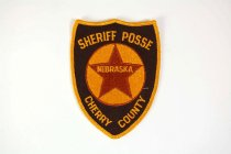 Image of 13259-73 - Patch, Law Enforcement, Sheriff, Cherry County