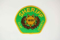 Image of 13259-77 - Patch, Law Enforcement, Sheriff, Clay County