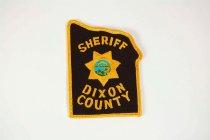 Image of 13259-89 - Patch, Law Enforcement, Sheriff, Dixon County