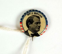 Image of 13262-8 - Button, Campaign, William Jennings Bryan