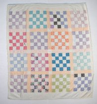 Image of 13261-5 - Quilt, Checkerboard