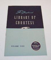 Image of 13272-1-(5) - Pamphlet, Greyhound Library of Courtesy, Volume 5