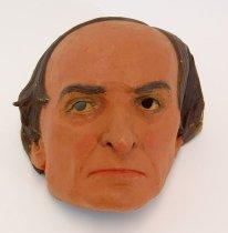 Image of 13289-1 - Portrait Mask, Daniel Webster; Made by Doane Powell