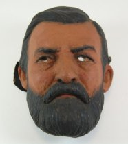 Image of 13289-14 - Portrait Mask, Ulysses S. Grant; Made by Doane Powell