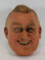 Image of 13289-15 - Portrait Mask, Franklin D. Roosevelt; Made by Doane Powell