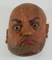 Image of 13289-3 - Portrait Mask, Benito Mussolini; Made by Doane Powell