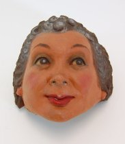 Image of 13289-58 - Portrait Mask, Female Character; Made by Doane Powell