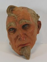 Image of 13289-62 - Portrait Mask, Uncle Sam; Made by Doane Powell