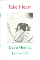 """Image of 11055-2976 - Pamplet, Instruction, """"Take Heart: Live a Healthy Latino Life"""""""