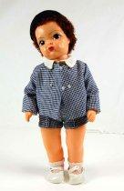 Image of 13244-147-(1-10) - Doll, Jerri Lee, Blue Houndstooth Spring Suit