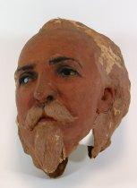 Image of 13289-16 - Portrait Mask, Buffalo Bill Cody; Made by Doane Powell