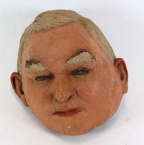 Image of 13289-21 - Portrait Mask, John Nance Garner; Made by Doane Powell