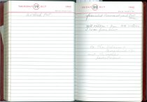 Image of RG4121.AM.S2.F18 Diary 1962