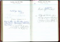Image of RG4121.AM.S2.F11 Diary 1956