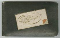 Image of 11055-2039 - Book, Autograph, Ft. Robinson; Robert Corliss, Xmas 1887
