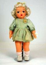Image of 13244-129-(1-11) - Doll, Terri Lee, Talking Terri in School Dress and Pinafore