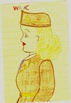 Image of 10929-13 - Drawing, WAAC