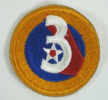 Image of 11215-30 - Patch, Usaaf, Third Air Force; WWII