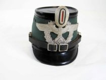 Image of 6099-8 - Cap, Policeman, German; Recklinghausen, Germany