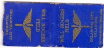 Image of 9691-26 - Matchbook Cover, Will Rogers Field; WWII, Oklahoma City, OK
