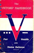 Image of 11055-1108 - Pamphlet, The Victory Handbook for Health and; Home Defense