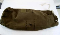 Image of 11267-5 - Bag, Sea Bag, US Navy, Sea-Bees, WWII; Ordell Hennings