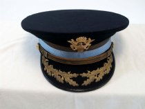 Image of 6090-35 - Cap, USA, Ofc, Dress; Made for Col Miltonberger in 1941