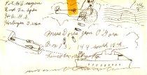 Image of 8655-28 - Envelope, Pvt. W.A. Meyers, to Doris Jean Ogara, 1943
