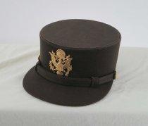 Image of 9168-7 - Hat, Hobby; WAC, WWII, Major Helen Sagl