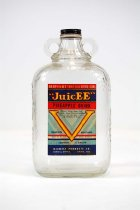 Image of 11055-1110-(1-2) - Bottle W/Lid, Pineapple Drink; Juicee Brand, Midwest Products Co.