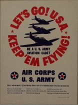 Image of 4541-374 - Poster, US Army Air Corps