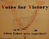 Image of 4541-725 - Poster, Votes for Victory