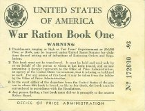 Image of 10063-9 - Book, War Ration Book One