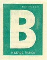 Image of 11180-1 - Sticker, B, Mileage Ration