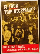 "Image of 4541-737 - Poster, ""Is Your Trip Really Necessary"""