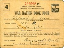 Image of 7387-1-(12) - Book, War Ration Book Four