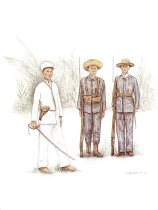 Image of 10921-57-(3) - Print, Soldiers of the Philippine Nationalist Army; Debra Brownson