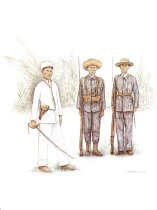 Image of 10921-58-(3) - Print, Soldiers of the Philippine Nationalist Army; Debra Brownson