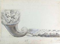 "Image of 12523 - Cartoon; Herbert Johnson; ""Mass Production"""