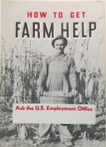 "Image of 4541-687 - Poster, ""How to Get Farm Help"""