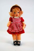 Image of 13244-95-(1-9) - Doll, Terri Lee, Blonde, Red Dress