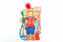 Image of 13244-422 - Card, Greeting, Doll, John, A Royal Canadian Mountie